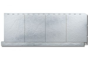Фасадная панель Альта-Профиль Фасадная плитка 1130х450х2 мм Базальт
