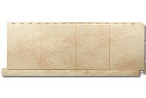 Фасадная панель Альта-Профиль Фасадная плитка 1130х450х2 мм Оникс
