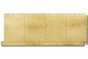 Фасадная панель Альта-Профиль Фасадная плитка 1130х450х2 мм Травертин