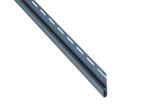 """Планка """"фінішна"""" Alta-Siding сіро-блакитна 3660 мм"""