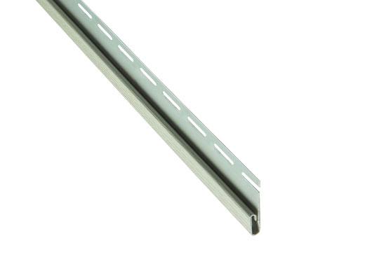"""Планка """"фінішна"""" Alta-Siding сіро-зелена 3660 мм"""