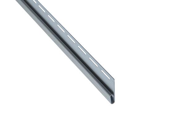 """Планка """"фінішна"""" Alta-Siding світло-сіра 3660 мм"""
