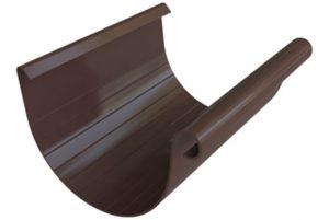 Желоб ПВХ Альта-Профиль Элит 125/95 мм коричневый