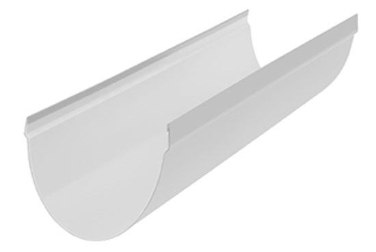 Ринва ПВХ Стандарт 74 мм Біла, Альта-Профіль