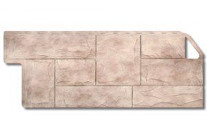 Фасадная панель Альта-Профиль Гранит 1160х450х2,3 мм Саянский