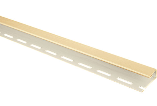 """Планка """"J-trim"""" Alta-Siding пісочна 3660 мм"""