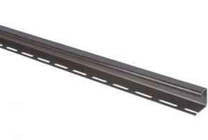 J-trim профиль коричневый для фасадных панелей