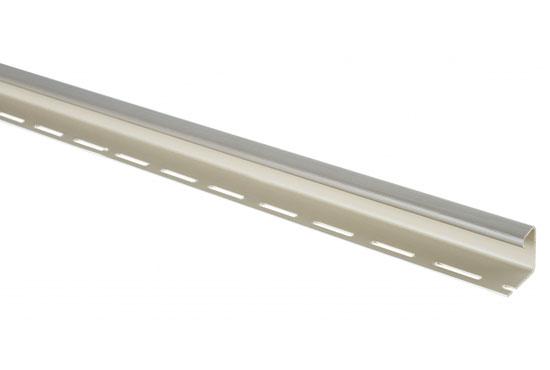 J-trim профіль звичайний сіро-коричневий для фасадних панелей