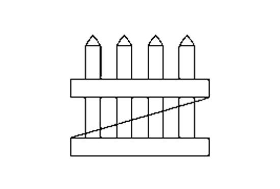 "Хвіртка для паркану ""Garden"" (62,7х91,44 см.)"