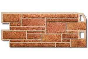 Камень Бежевый, 1130х470х20мм, Фасадная панель