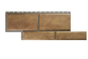 Фасадная панель Альта-Профиль Камень Флорентийский 1250х450х2,6 мм бежевый