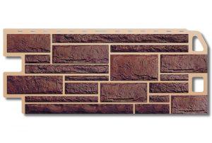 Фасадная панель Альта-Профиль Камень 1130х470х2 мм Жженый