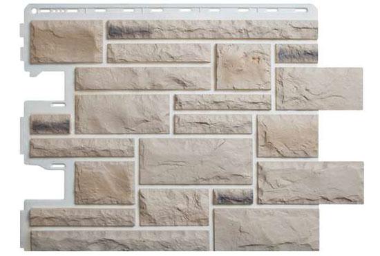 Камінь Празький 01 Фасадна панель Альта-Профіль, 795х591х2мм