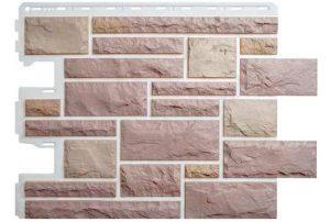 Фасадная панель Альта-Профиль Камень Пражский 795х591х2 мм цвет 03