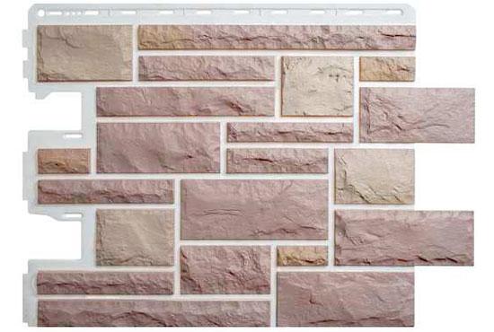 Камінь Празький 03 Фасадна панель Альта-Профіль, 795х591х2мм