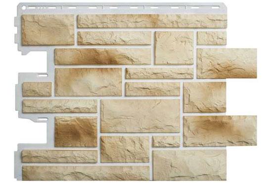 Камінь Празький 04 Фасадна панель Альта-Профіль, 795х591х2мм