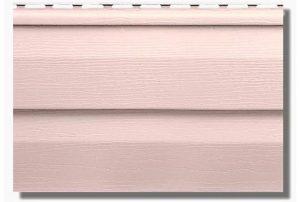 Сайдинг виниловый Альта-Профиль KANADA Плюс Престиж двухпереломный 3660х230х1,1 мм персиковый
