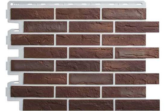 Цегла Ризька 01 Фасадна панель Альта-Профіль, 795х591х2мм