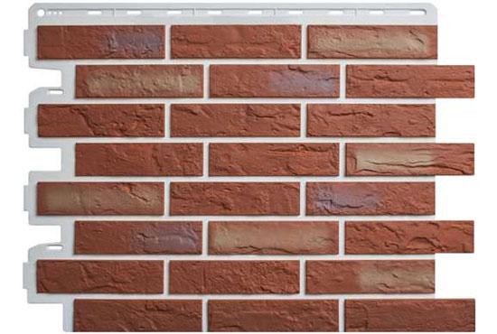Цегла Ризька 02 Фасадна панель Альта-Профіль, 795х591х2мм