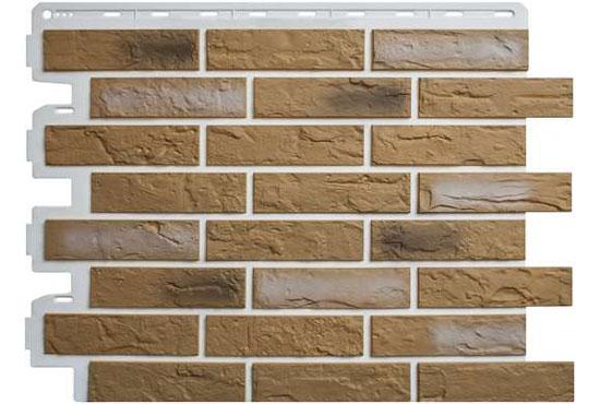 Цегла Ризька 03 Фасадна панель Альта-Профіль, 795х591х2мм