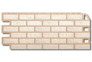 Кирпич Белый Фасадная панель,1130х470х2мм