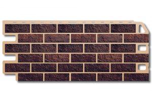Кирпич  Жженый Фасадная панель,1130х470х2 мм