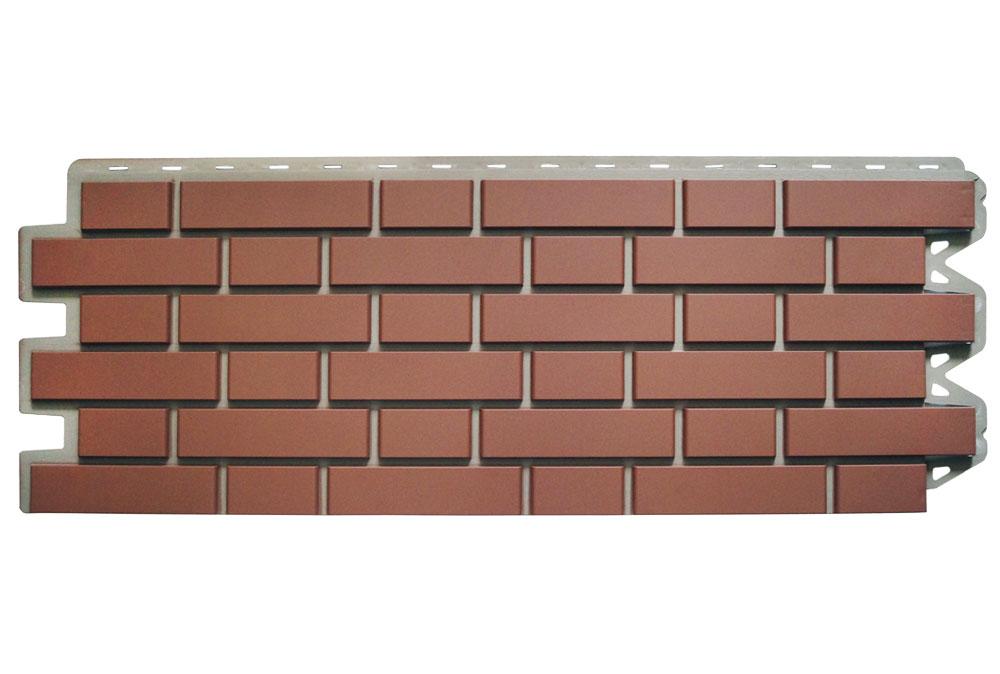Клінкерна цегла Палена Фасадна панель, 122х440х2мм