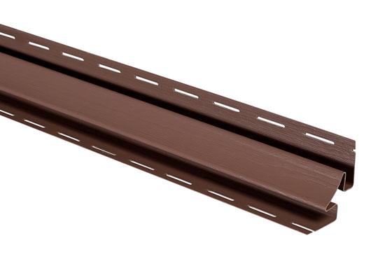 """Планка """"внутрішній кут"""" Т-13 червоно-коричнева Канада Плюс Преміум 3050 мм"""