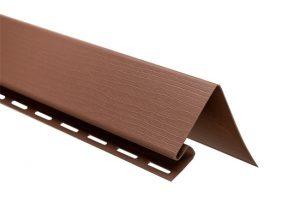 """Планка """"околооконная"""" Т-17 красно-коричневый Канада Плюс Премиум 3050 мм"""