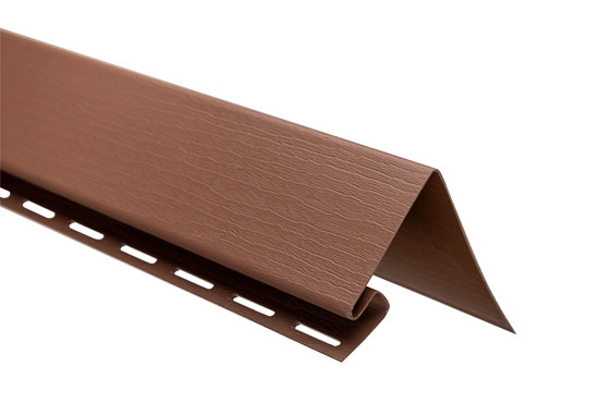 """Планка """"білявіконна"""" Т-17 червоно-коричнева Канада Плюс Преміум 3050 мм"""