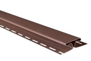 """Планка """"соединительная"""" Т-18 красно-коричневый Канада Плюс Премиум 3050 мм"""