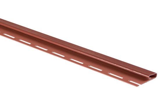 """Планка """"фінішна"""" Т-14 червона Канада Плюс Преміум 3660 мм"""