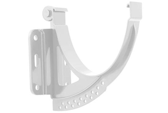 Кронштейн ринви Стандарт 115 мм Білий, Альта-Профіль