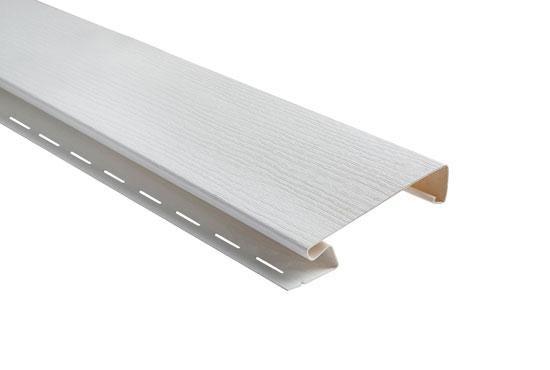 Планка «наличник широкий» Alta-Siding белый 3050х12 мм