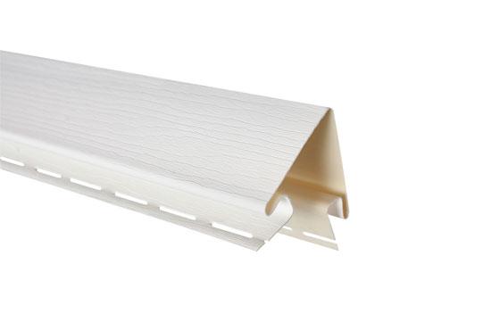 """Планка """"зовнішній кут"""" Alta-Siding біла 3050 мм"""