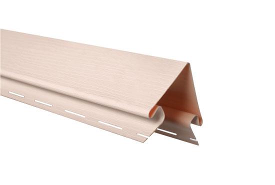 """Планка """"зовнішній кут"""" Alta-Siding рожева 3050 мм"""