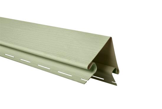 """Планка """"зовнішній кут"""" Alta-Siding салатна 3050 мм"""