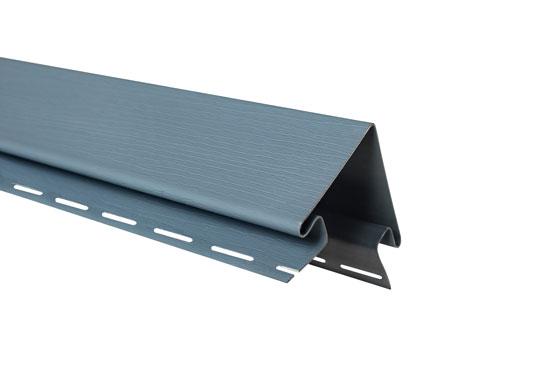 """Планка """"зовнішній кут"""" Alta-Siding сіро-блакитна 3050 мм"""
