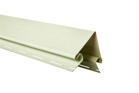 """Планка """"зовнішній кут"""" Alta-Siding сіро-зелена 3050 мм"""
