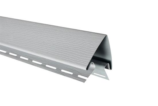 """Планка """"зовнішній кут"""" Alta-Siding світло-сіра 3050 мм"""