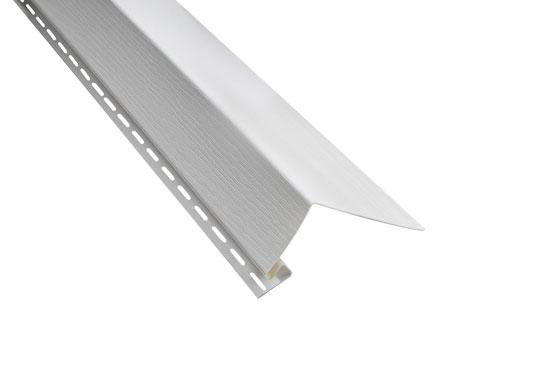 """Планка """"білявіконна"""" Alta-Siding біла 3050 мм"""