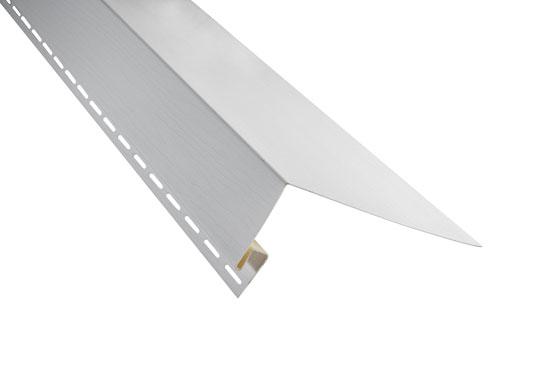 """Планка """"білявіконна широка"""" Alta-Siding біла 3000х24 мм"""