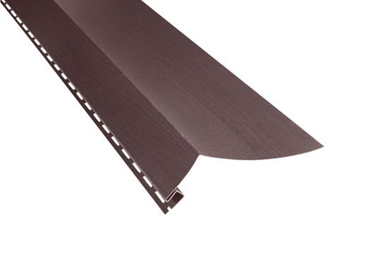 """Планка """"білявіконна широка"""" Alta-Siding коричнева 3000х24 мм"""