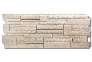 Фасадная панель Альта-Профиль Скалистый камень 1170х450х2 мм Альпы