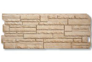 Фасадная панель Альта-Профиль Скалистый камень 1170х450х2 мм Анды
