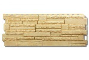 Фасадная панель Альта-Профиль Скалистый камень 1170х450х2 мм Кавказ