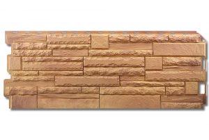 Фасадная панель Альта-Профиль Скалистый камень 1170х450х2 мм Памир