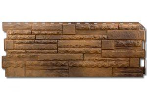 Фасадная панель Альта-Профиль Скалистый камень 1170х450х2 мм Тибет