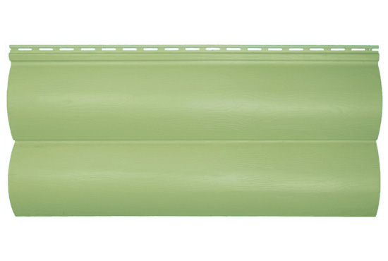 Сайдинг BlockHouse Slim оливковий двопереломний, 3660х230×1,1 мм