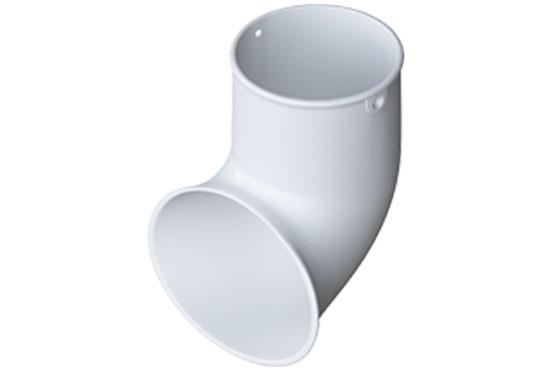 Злив труби Еліт 95 мм Білий, Альта-Профіль